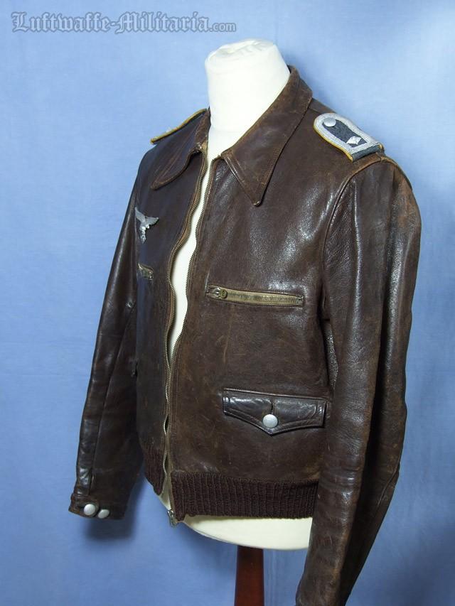 Luftwaffe Hartmann Jacket For A Feldwebel Of Flight